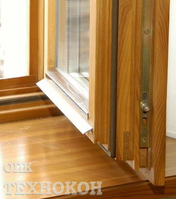 на ремонт деревянных окон.